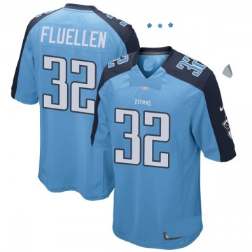 Youth David Fluellen Tennessee Titans Nike Game Team Color Jersey - Light Blue